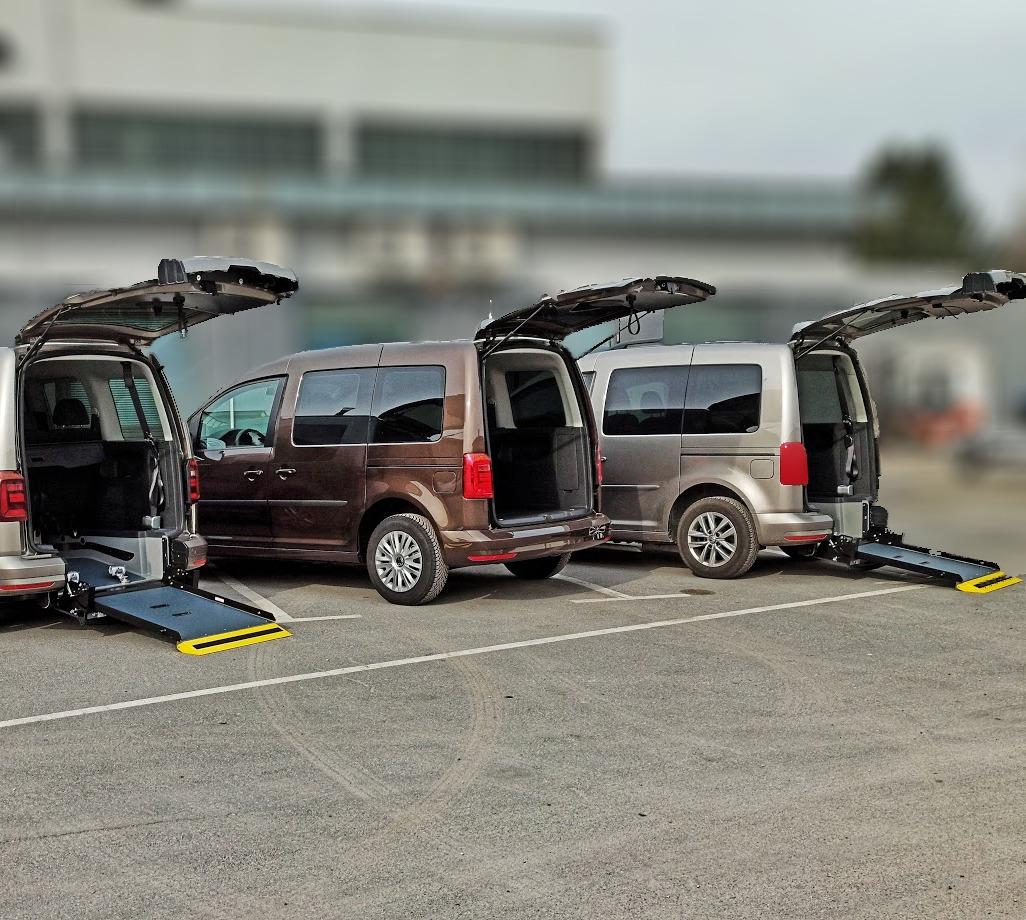 Poglobitev v VW Caddy