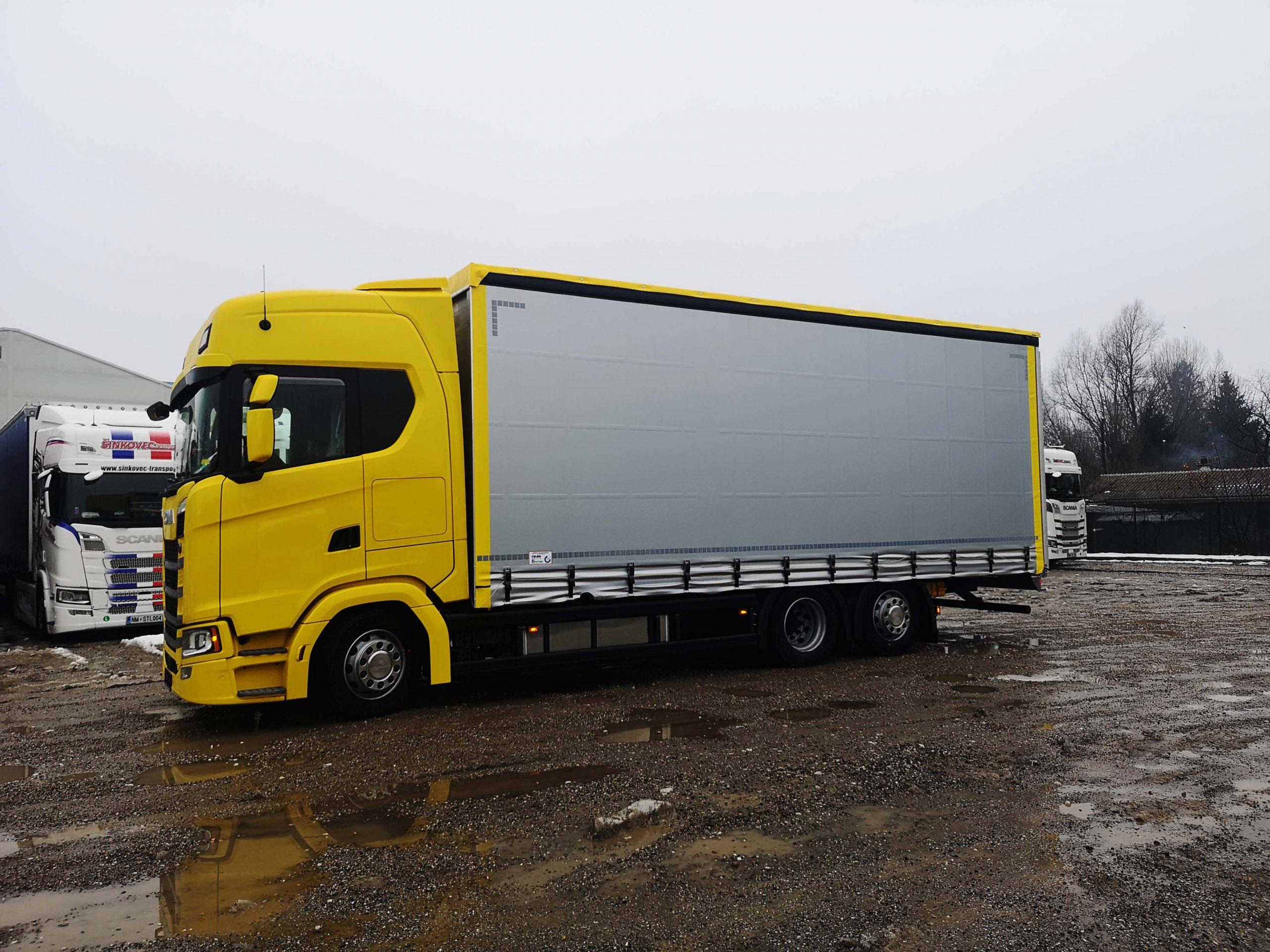 Scania z AMK-VRESTRO nadgradnjo