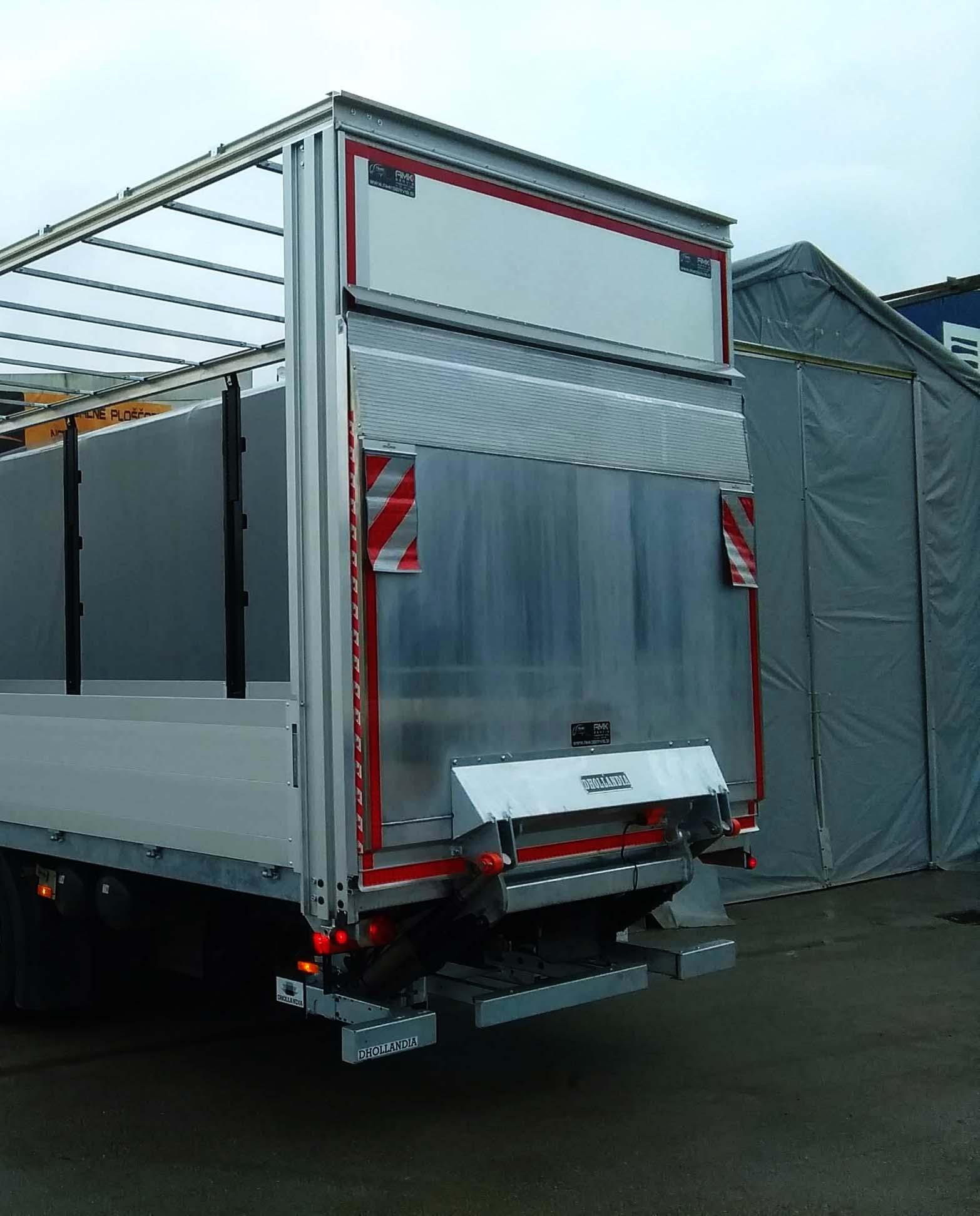 1500 kg nosilnosti aluminijaste lahke nakladalne ploščadi
