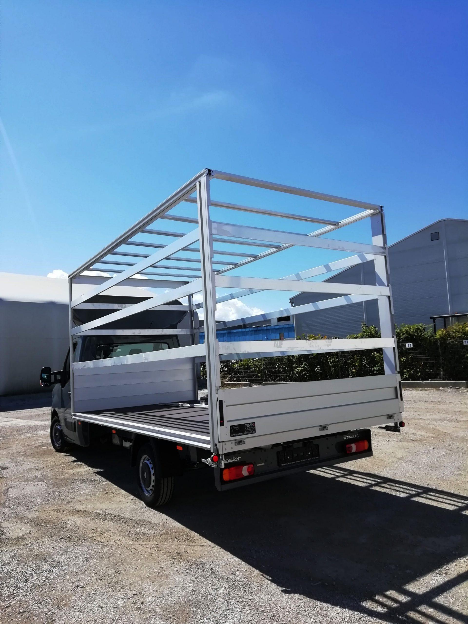 AMK nadgradnja za tovorno vozilo