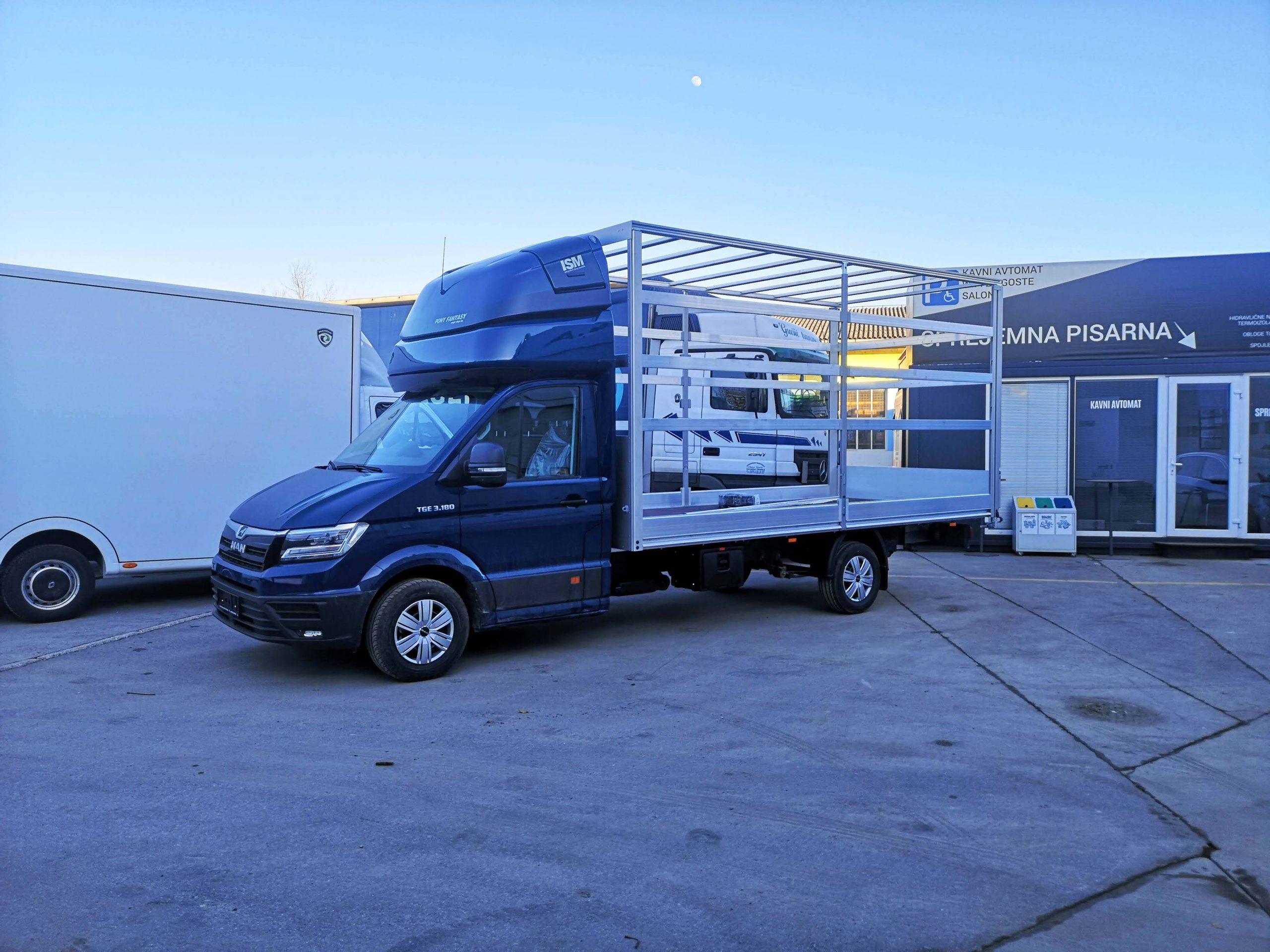 AMK nadgradnja in spalna kabina